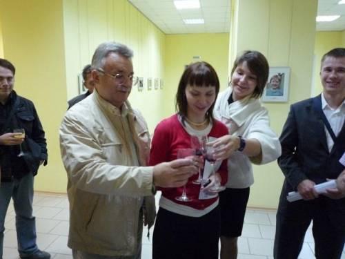 Николай Салохин с питерскими экспертами